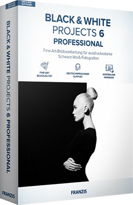 Franzis BLACK WHITE projects professional v6.63.03376 - ENG