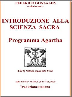 Federico Gonzales e collaboratori - Introduzione alla Scienza Sacra (2003)