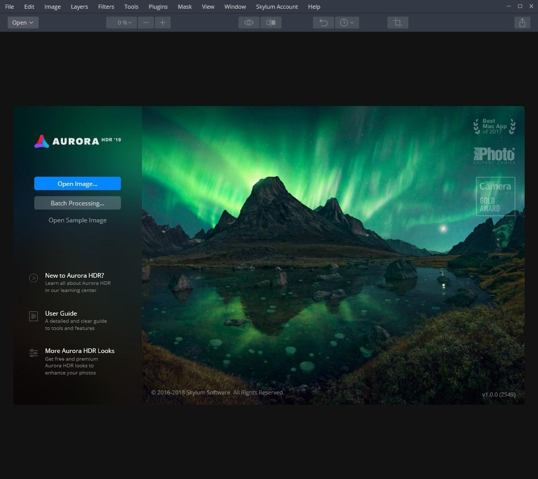 Aurora HDR 2019 v1.0.0.2550 x64 - ENG