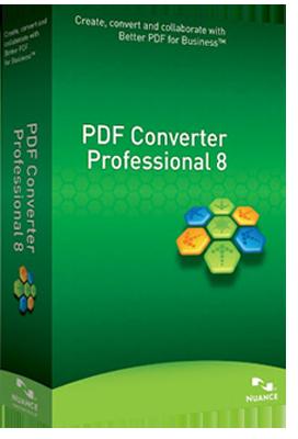 Nuance PDF Converter Professional v8.10.6267 DOWNLOAD ITA