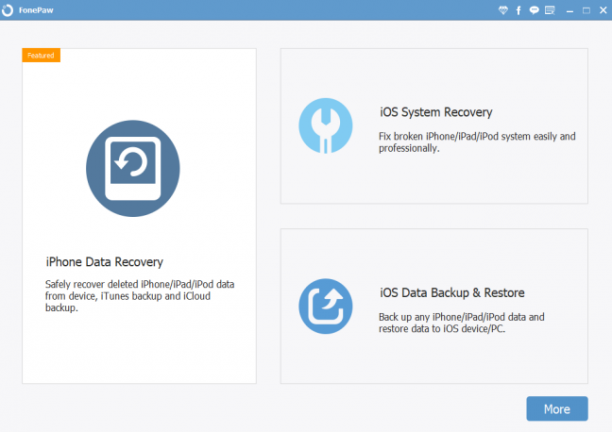 FonePaw iPhone Data Recovery 6.2.0 - ENG