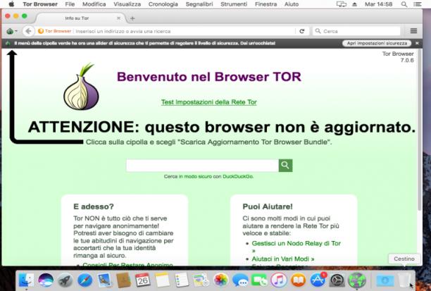 [MAC] Tor Browser Bundle 9.0.5 macOS - ITA
