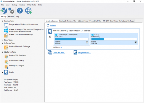 Macrium Reflect Server Plus Edition 7.2.4557 (USB/WinPE x64) - ENG
