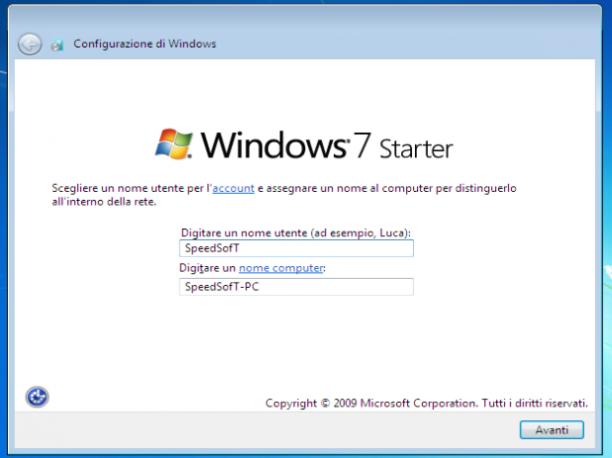 Microsoft Windows 7 Sp1 Starter (x86) - Dicembre 2018 - Ita