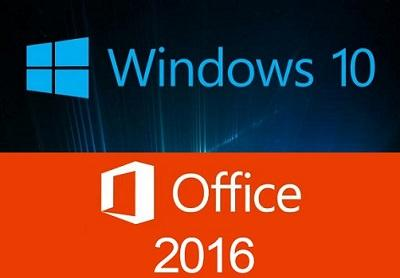 Microsoft Windows 10 Pro v1709 + Office 2016 Pro Plus Febbraio 2018 - ITA