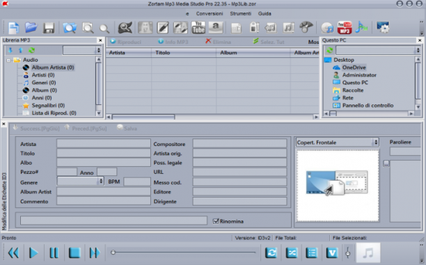 Zortam Mp3 Media Studio Pro 22.65 - ITA