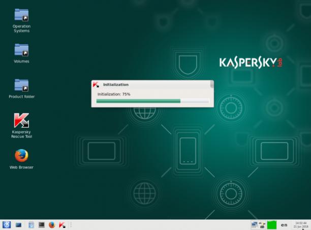 Kaspersky Rescue Disk 18.0.11.0 Update 09.02.2020 - ENG
