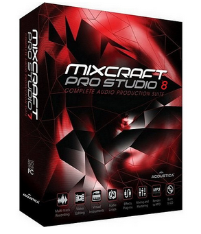 Acoustica Mixcraft Pro Studio 8.1 Build 390 DOWNLOAD ITA