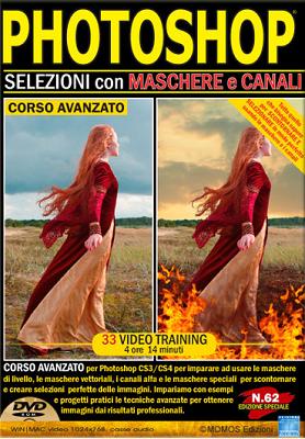 GDF Photoshop N.62 - VideoCorso Selezione con Maschere e Canali - ITA