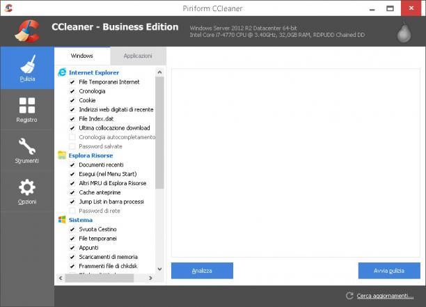 CCleaner Professional Edition 5.57.7182 Preattivato - ITA