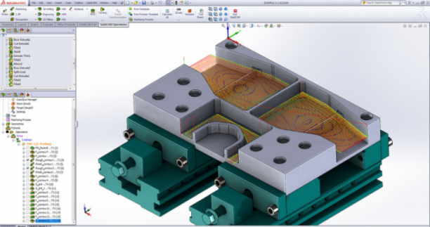 SolidCAM 2019 SP2 HF5 for SolidWorks x64 - ITA