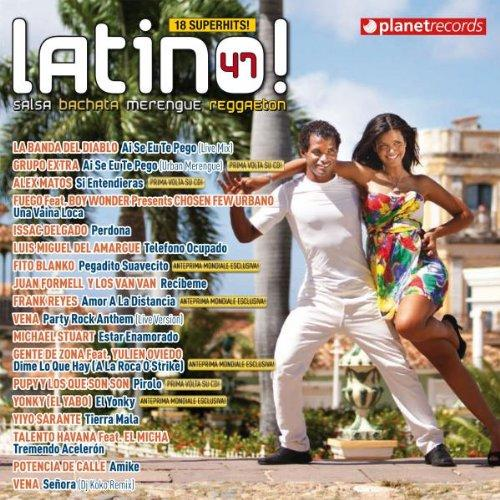 LATINO 47 - SALSA BACHATA MERENGUE REGGAETON (2012) MP3 320 Kbps