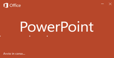 Microsoft PowerPoint 2019 - 1912 (Build 12325.20288) - Ita