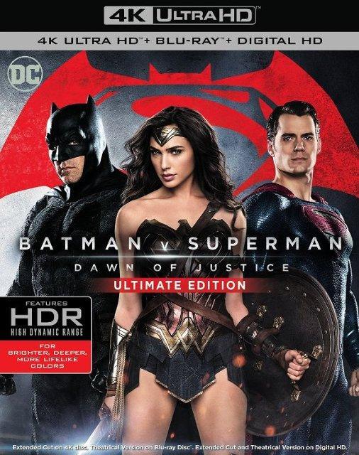 Batman V Superman Dawn Of Justice (2016) Blu-ray 2160p mkv Untouched UHD HEVC HDR 10-MULTi DD 5.1