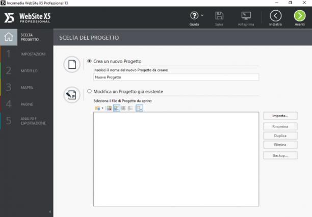 Incomedia WebSite X5 Professional 13.0.5.27 - ITA