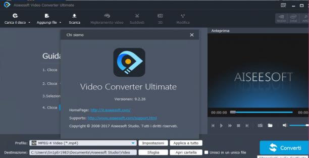 Aiseesoft Video Converter Ultimate 9.2.26 - Ita