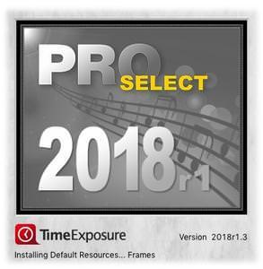 [MAC] TimeExposure ProSelect Pro 2018r1.3 MacOSX - ENG