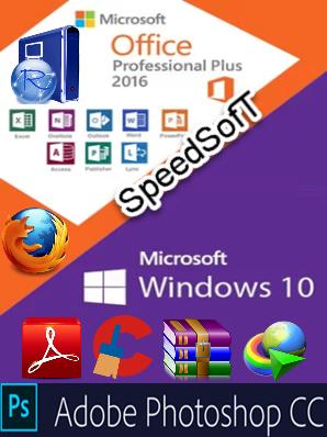 Microsoft Windows 10 Pro v1803 & Adobe PS   Office 2016 & More (x64) - Settembre 2018 - Ita