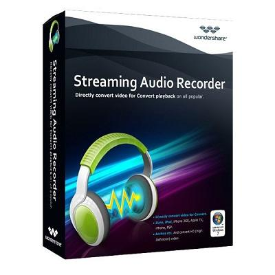 Wondershare Streaming Audio Recorder v2.3.7.1 - ENG