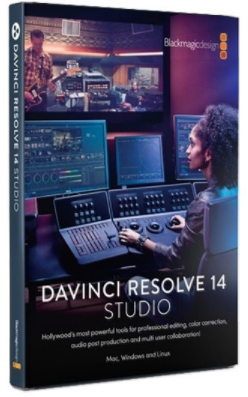 Blackmagic Design DaVinci Resolve Studio 14.2.1 64 Bit - ENG