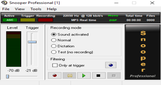 Snooper Professional 3.2.1 - ENG