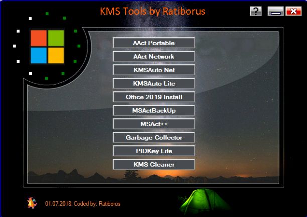 [PORTABLE] KMS Tools (01.08.2019) Portable - ENG