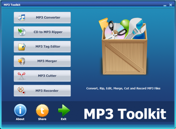 MP3 Toolkit 1.6.2 - ENG
