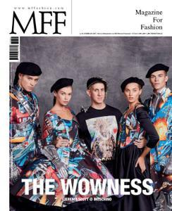 MFF. Magazine For Fashion - Febbraio 2017  - ITA