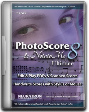 Neuratron PhotoScore & NotateMe Ultimate 2018.7 v8.8.7 - ENG