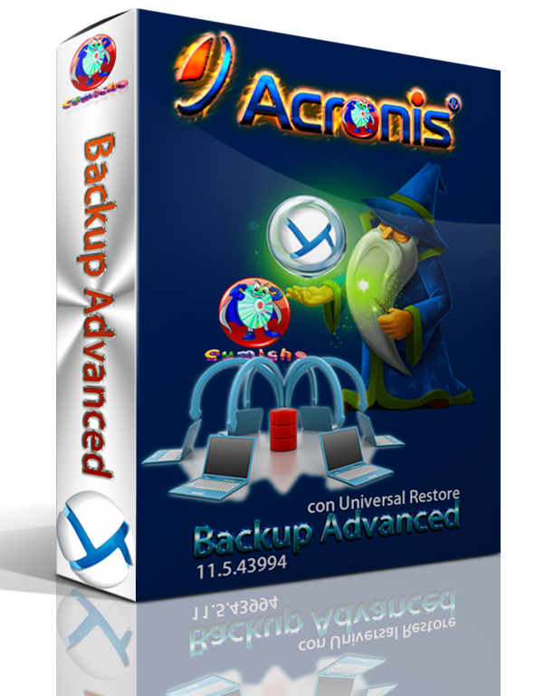 Acronis Backup Advanced Español 11.5.43994 con Universal Restore