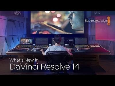 BlackMagic Design Davinci Resolve v14.0 64 Bit - ENG