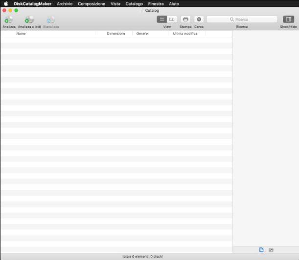 [MAC] DiskCatalogMaker 7.5.7 macOS - ITA