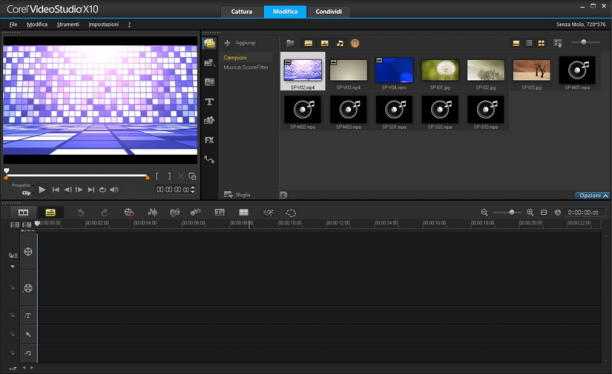 Corel VideoStudio Ultimate X10 v20.0.0.137 + Content Pack - ITA