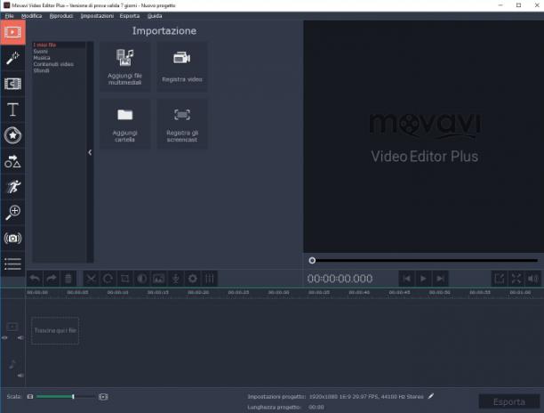 Movavi Video Editor Plus v20.0.0 - ITA
