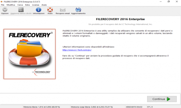 LC Technology Filerecovery 2016 Enterprise / Professional 5.6.0.3 - ITA