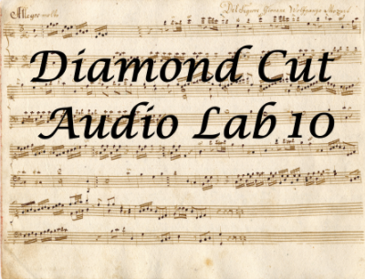 Diamond Cut Audio Restoration Tools v10.50 - ENG