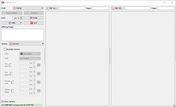 DiffPDF 5.9.2 - ENG