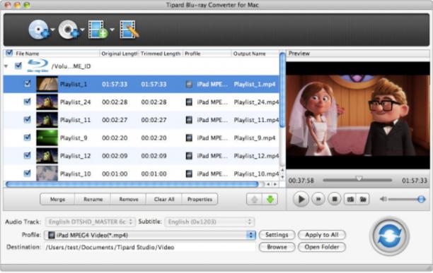 [MAC] Tipard Blu-ray Converter for Mac 9.2.18 macOS - ENG