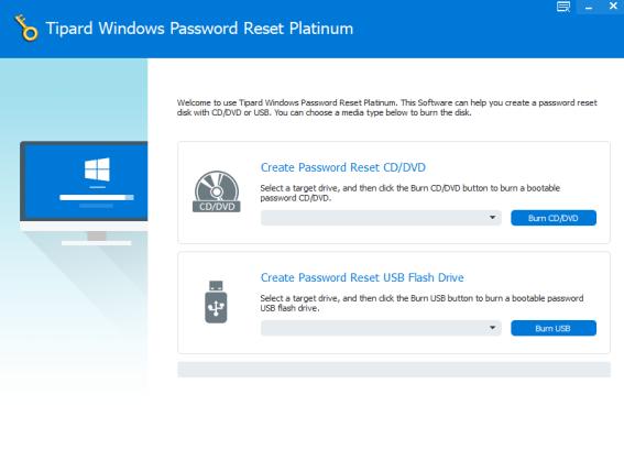Tipard Windows Password Reset Platinum 1.0.10 - ENG
