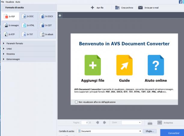 AVS Document Converter 4.2.3.268 - ITA