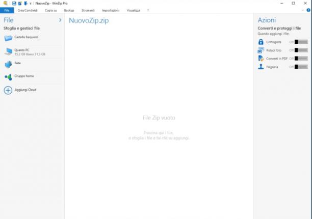 WinZip Pro v22.0 Build 12684i - ITA