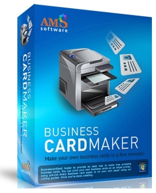 AMS Software Business Card Maker 9.15 - ENG