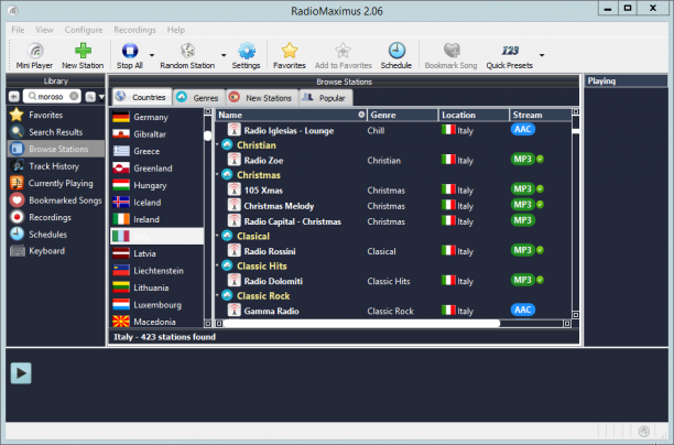RadioMaximus Pro 2.23.9 - ENG