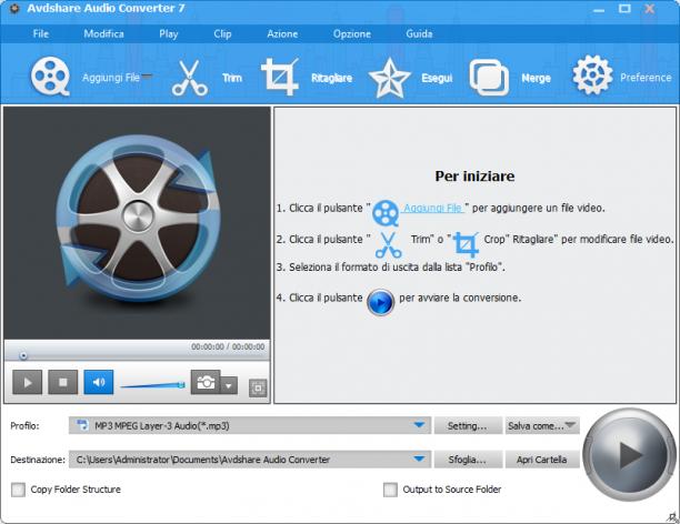 Avdshare Audio Converter 7.2.0.7268 - ITA