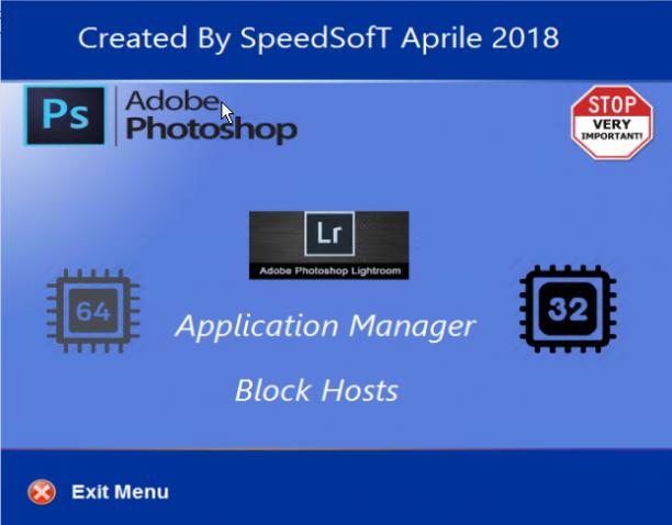 Adobe Photoshop & Lightroom Classic CC 2018 AIO Preattivato - Aprile 2018 - Ita