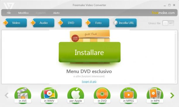[PORTABLE] Freemake Video Converter 4.1.10.479 x64 Portable - ITA