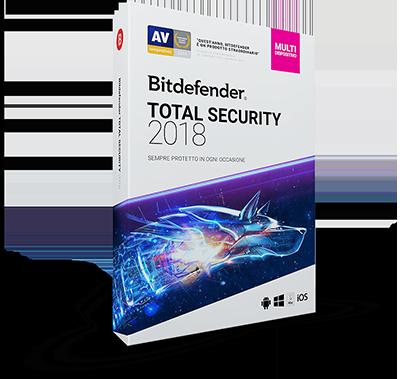 Bitdefender Total Security 2018 v22.0.19.242 - ITA