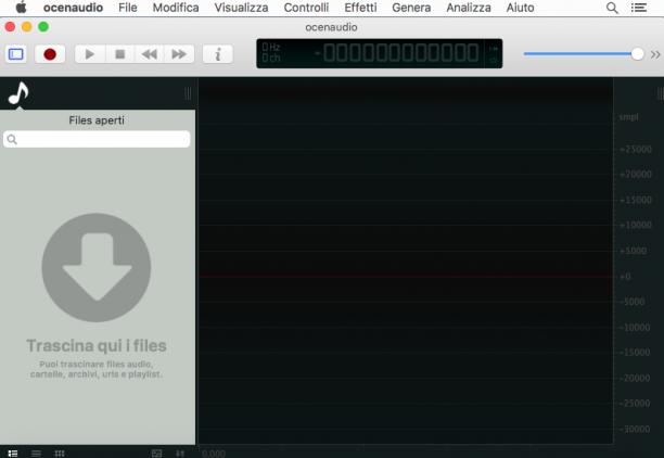 [MAC] OcenAudio 3.7.3 macOS - ITA