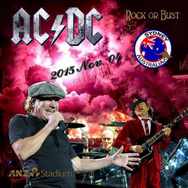 AC-DC Rock Or Bust Tour (Sydney, Australia)(2015) Mp3