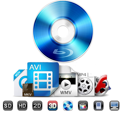 AnyMP4 Blu-ray Ripper 7.2.20 - ENG